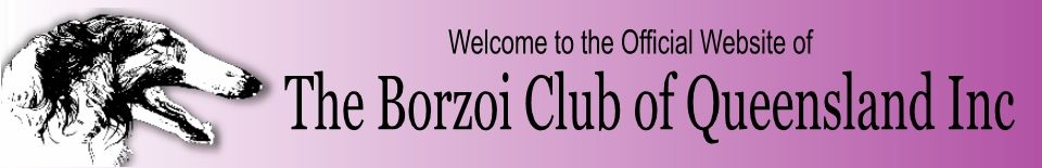 The Borzoi Club of Queensland Inc